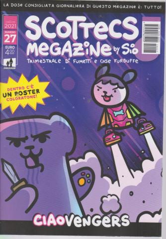Scottecs Megazine - n. 27 Ciaovengers -luglio  2021 - trimestrale