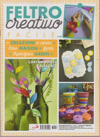 Feltro Creativo Facile - n. 17 - 13 maggio 2021- trimestrale
