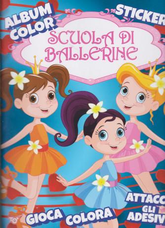 Album color  Scuola di ballerine - n. 44 - bimestrale - 17 dicembre 2020 -