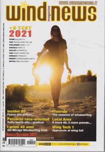 Wind News Surf magazine - n. 6/7- mensile -agosto - settembre  2021