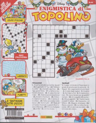 Enigmistica di Topolino - n. 44 - bimestrale - 23 dicembre 2020