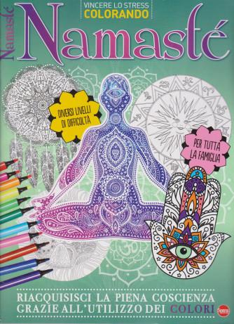 Vincere lo stress colorando - Namastè - n. 2 - bimestrale - marzo - aprile 2021 -
