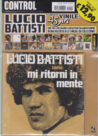 Lucio Battisti  canta Mi ritorni in mente - rivista + 45 giri - n. 2 - aprile - maggio 2021 -
