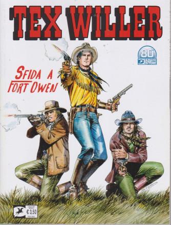 Tex Willer -Sfida a Fort Owen - n. 33  - luglio   2021 - mensile
