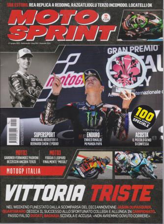 Motosprint - n. 22- settimanale - 1/7 giugno  2021 -