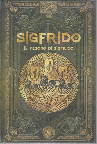 Mitologia Nordica-Sigfrido -  il tesoro di Sigfrido  -  n. 36 - settimanale -4/6/2021- copertina rigida