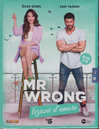 Mr Wrong - Lezioni d'amore - n. 21-  quarta uscita  - 2 dvd + booklet - 11 settembre  2021   - settimanale