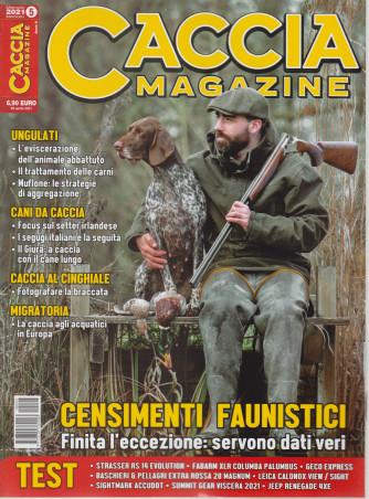 Caccia Magazine - n. 5 - mensile - maggio  2021