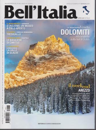 Bell'italia - n. 417 - mensile - gennaio 2021