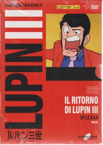 Le imperdibili avventure di Lupin III - Il ritorno di Lupin III- settimanale