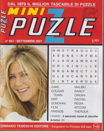 Mini Puzzle - n. 551 - settembre 2021 - mensile