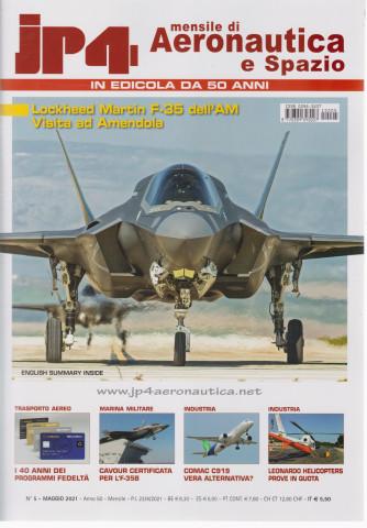Jp4  - Mensile di Aeronautica e Spazio - n. 5 - maggio 2021 - mensile