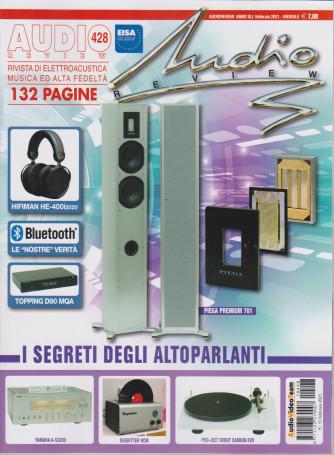 Audio review - n. 428 - mensile - febbraio 2021 - 132  pagine