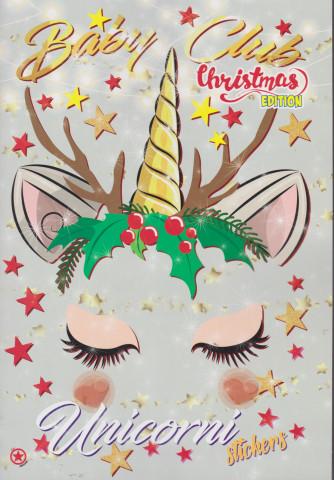 Baby Club Christmas - Unicorni stickers - n. 13 - bimestrale - dicembre - gennaio 2021