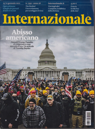 Internazionale - n. 1392- 15/21 gennaio 2021 - settimanale -