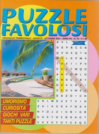 Puzzle Favolosi - n. 78 - trimestrale -agosto - ottobre  2021