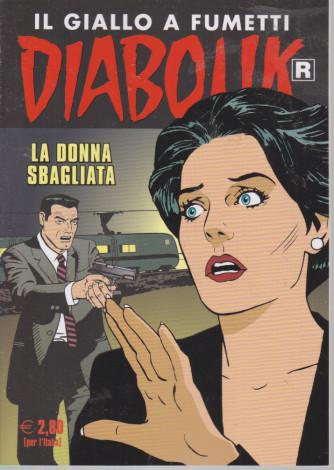 Diabolik - n. 721 - La donna sbagliata - mensile - 10/7/2021