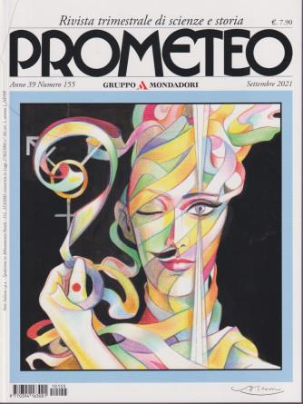 Prometeo - n. 155 - settembre  2021 - trimestrale