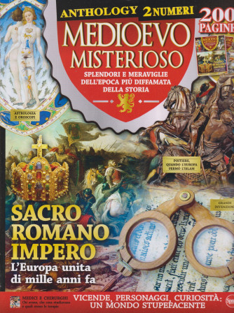Medioevo Misterioso Anthology - n. 11 - agosto - settembre   2021 - bimestrale  -  2 numeri - 200 pagine