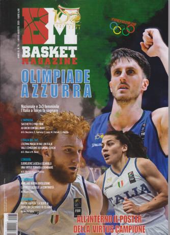 BM Basket magazine - n. 74 - luglio - agosto 2021 -