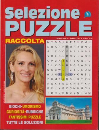 Selezione Puzzle - Raccolta - n. 178 - trimestrale - novembre - gennaio 2022