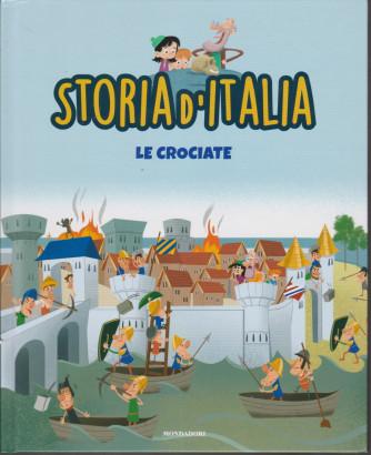 Storia d'Italia -Le crociate  - n. 19 - 22/12/2020 - settimanale - copertina rigida