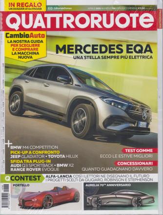 Quattroruote - n. 788 - mensile - aprile  2021 + Cambio Auto - rivista + dossier in regalo di 64 pagine