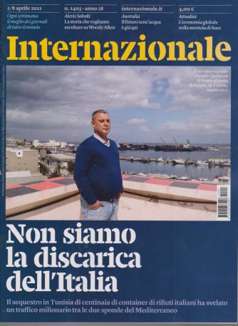 Internazionale - n. 1403 - 2/8 aprile  2021 - settimanale