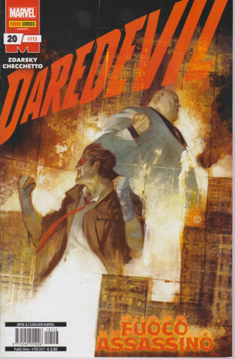 Daredevil - Fuoco assassino - n. 113 - mensile - 4 febbraio 2021