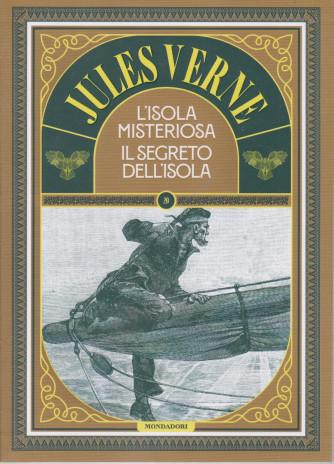 Jules Verne -L'isola misteriosa - Il segreto dell'isola -  n. 80 -23/3/2021 - settimanale - 189  pagine