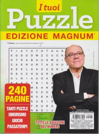 I tuoi puzzle edizione magnum - n. 8 - trimestrale - agosto/settembre/ottobre 2021 - 240 pagine