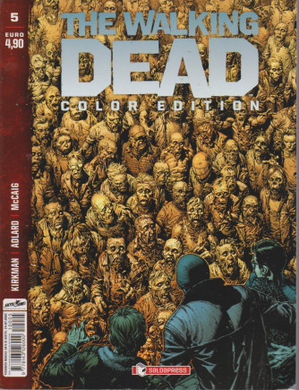 The walking dead  color edition- n. 5  -14/7/2021 - mensile