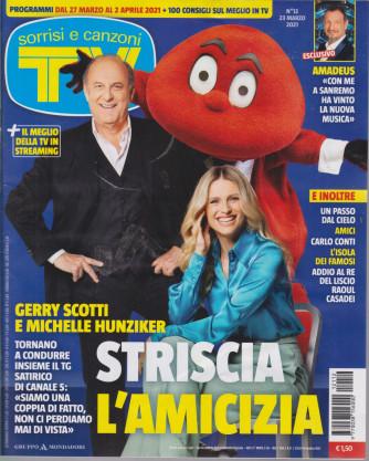 Sorrisi e Canzoni tv -n.  12 - settimanale - 23 marzo 2021