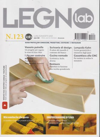 Legno Lab - n. 123 - bimestrale -luglio - agosto  2021