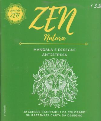 Zen Natura - n. 1 - Mandala  e disegni antistress - n. 1 - 9/7/2021 -