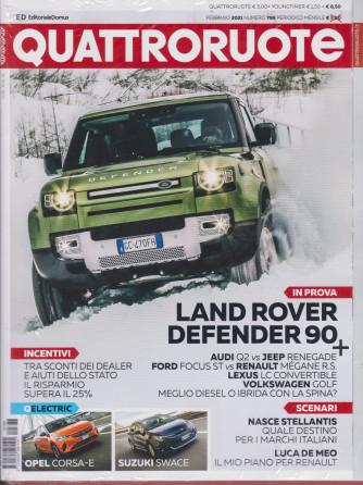 Quattroruote +   Youngtimer - n. 786 - mensile - febbraio 2021 - 2 riviste