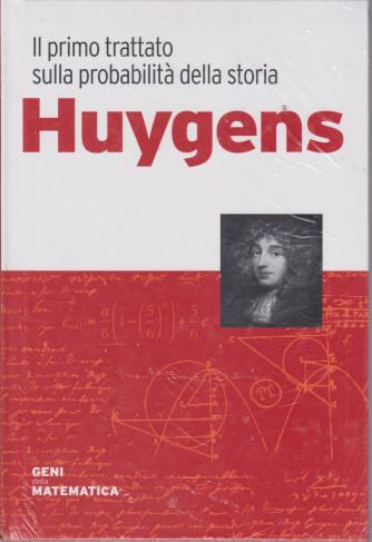 Geni della matematica -Huygens  n. 24 - settimanale- 27/8/2021 - copertina rigida
