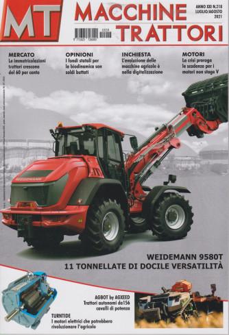 Macchine Trattori - n. 218 -luglio - agosto   2021 - mensile