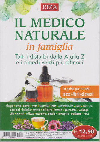 Salute naturale extra - n. 141 -Il medico naturale in famiglia -giugno - luglio   2021