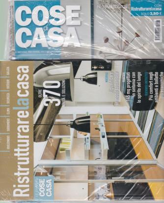 Cose di Casa - n. 3  - marzo  2021 - mensile + Ristrutturare la casa - 2 riviste