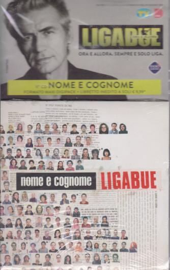 Cd Sorrisi Collezione 2 - n. 24- Ligabue  -11° cd -Nome e cognome    8/6/2021 - settimanale - formato maxi digipack + libretto inedito