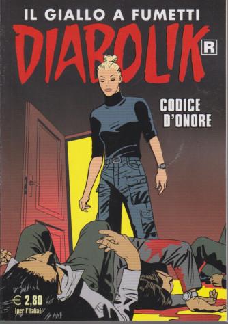 Diabolik - n. 718 - Codice d'onore - mensile - 10/4/2021