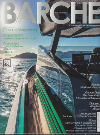 Barche - n. 7 - mensile - luglio 2021 -