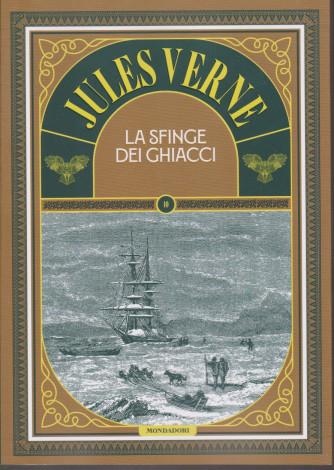 Jules Verne - La sfinge dei ghiacci - n. 70 -12/1/2021-  settimanale - copertina rigida