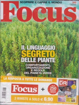 Focus + Focus D&R - n. 345 -luglio  2021 - 2 riviste
