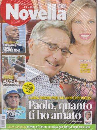 Novella 2000  - + Visto - n. 25 - settimanale -10 giugno 2021  - 2 riviste