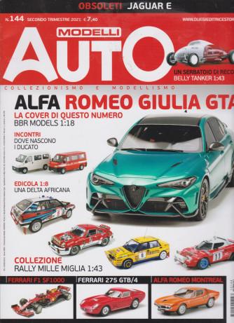 Modelli Auto - n. 144 - Secondo  trimestre 2021