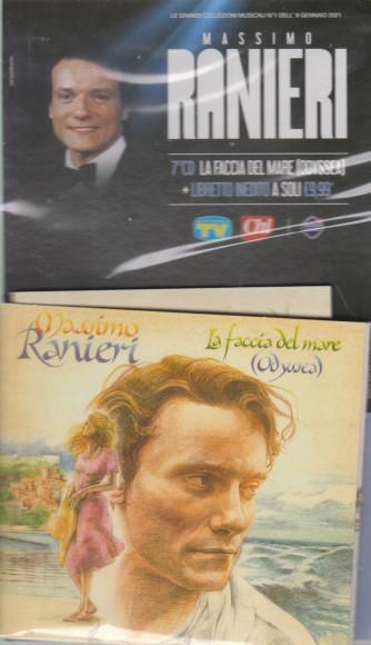 Le grandi collezioni musicali n. 1- 8 gennaio 2021 - Massimo Ranieri - 7° cd- La faccia del mare (Odyssea)- + libretto inedito