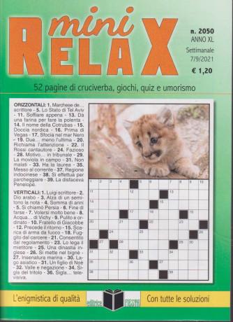 Mini Relax - n. 2050 - settimanale - 7/9/2021