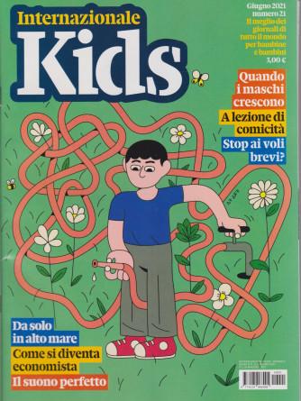 Internazionale Kids - n. 21 - mensile - giugno 2021